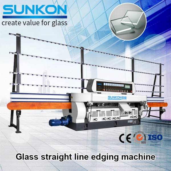 CGZ9325P Glass Straight Line Edging Machine with PLC Control