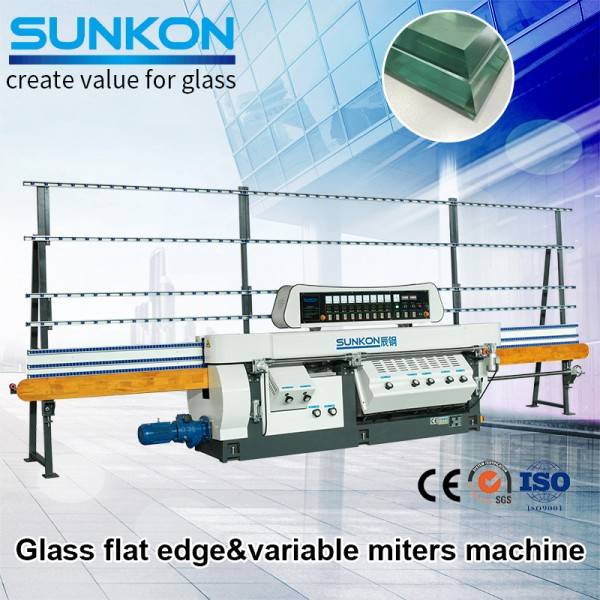 CGZ9325-45D Glass Variable Miter Edging Machine