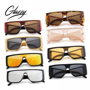 2021New Arrivals One-piece Sunglasses Fashion Sunglasses Frame PC Custom Logo Shade Sunglasses For Unisex