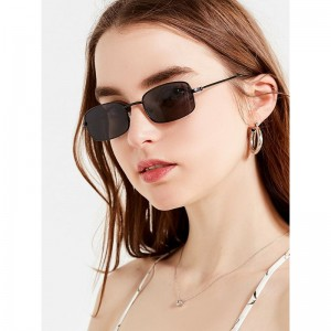 China Wholesale Sunglasses 2020 Suppliers –  Sun Glasses Good Quality Retro UV 400 Cool Driving Outdoor Travelling Rectangle Metal Frame Sunglasses For Man And For Women – Baolai