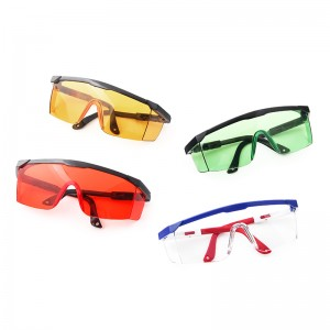 Poly Carbonate Frame And Lens Eyewear Anti scratch Fog Proof Safety Glasses For Public