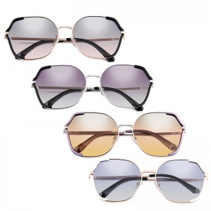2021 New Style Comfortable Super Light Nylon Sunglasses Uv400 For Women