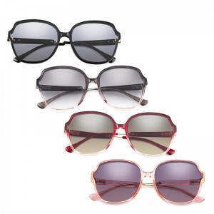 Fashion Rectangle Sunglasses Creative Unisex Shades Sun Glasses With Metal Hinge