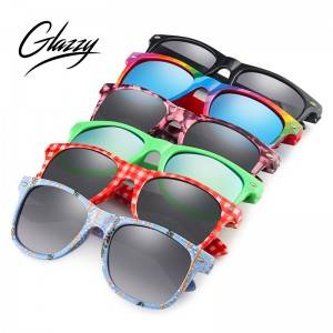 Sun Glasses UV 400 Custom With Logo Eye Glasses China Wholesalers Colorful PC Cheap Promotional Sunglasses