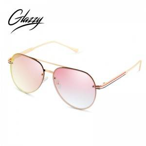2021 Fashion Models Eyewear Anti-blue Light Eyewear Metal Optical Frames Oversized custom Glasses
