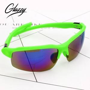 sports Sunglasses running fishing golf cycling Polarized Sports sunglasses PC half frame 100% UV400 Protection