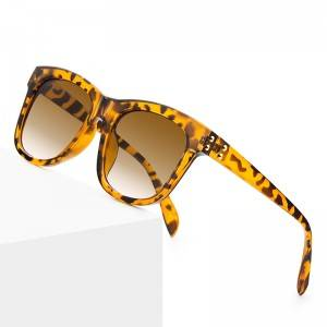 Retro Tortoiseshell Sunglasses Polarized Oversized Square Sunglasses Women Trendy