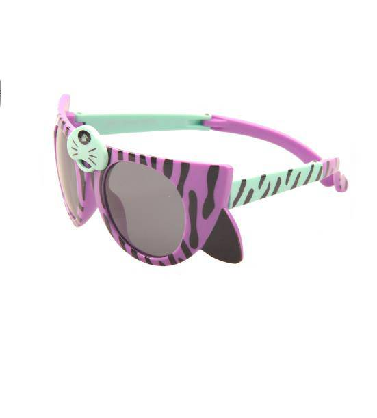 Newest Lovely tiger pattern cue kids sunglasses with custom logo cool funny kids sunglasses