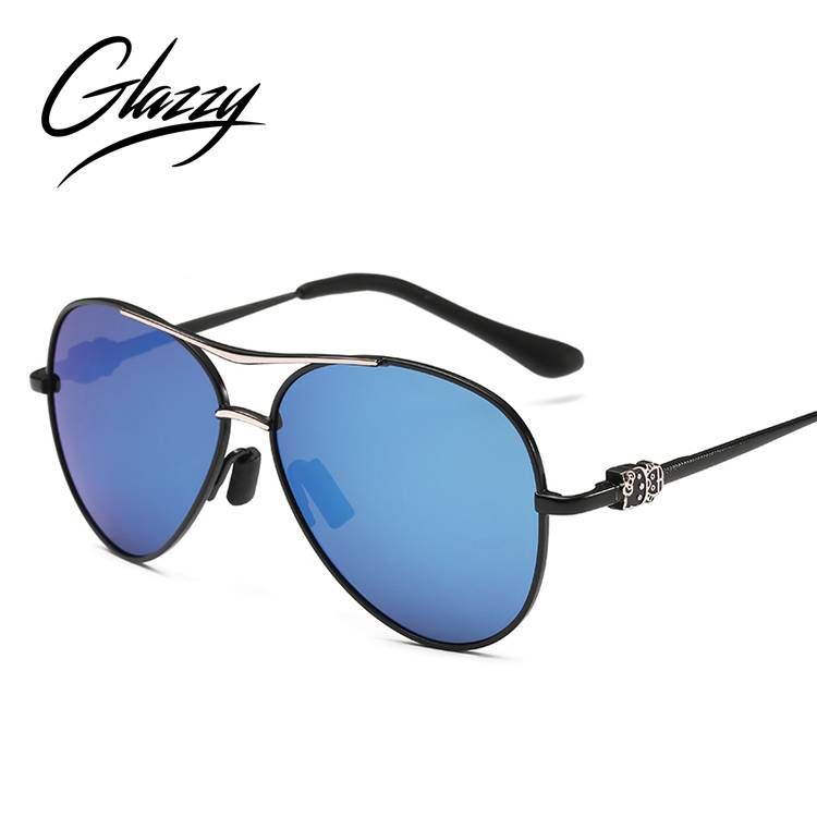 OEM/ODM China Luxury Sunglasses Women - Glazzy  Kids Sunglasses  Polarized UV400 Mirror Lens Metal Frame Baby Eyewear Kids SunGlasses from China – Baolai