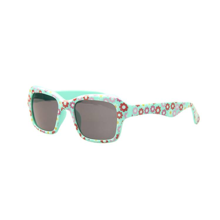 Neon plastic custom kids promotional sunglasses