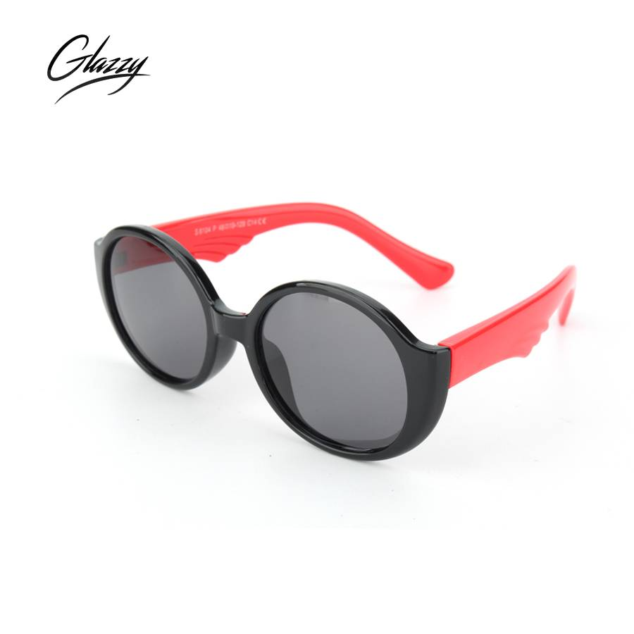 Manufacturer of  Kids Fashion Sunglasses - Glazzy Hot Sale UV400 Sunglasses Children Designer Kid Sunglass Rubber Polarized Sunglasses With Shades – Baolai