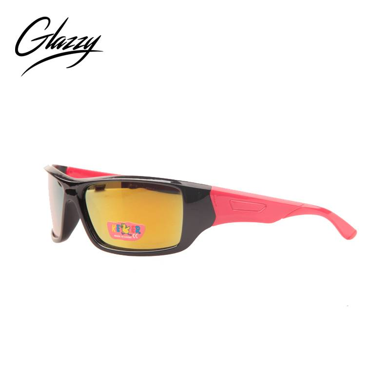 2020 New Style Trending Sunglasses For Kids - Glazzy cool mirror sunglasses uv400 color shine pc kids sports sunglasses – Baolai