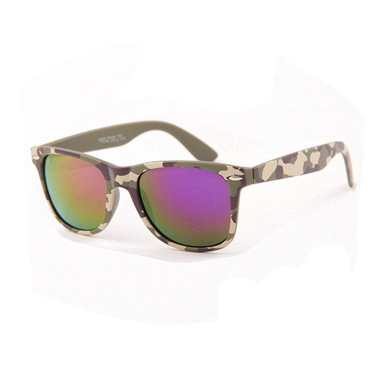 OEM Customized Sun Glasses For Men - Wholesale custom logo plastic camo sunglasses – Baolai