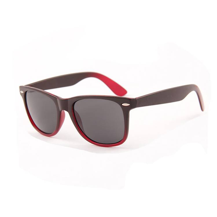 Chinese wholesale Sunglasses With Logo Printing - Low Price China Wholesale matte rubber classic retro 80s vintage black – Baolai