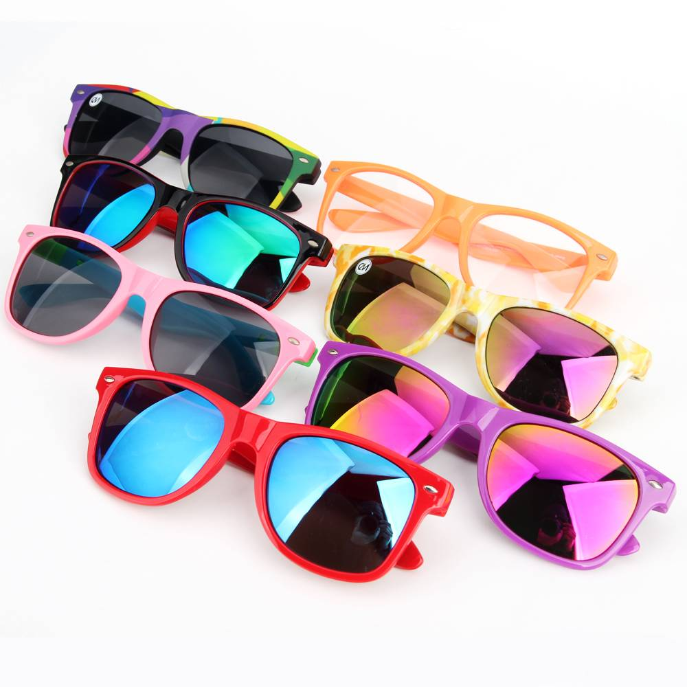 Custom logo Cheap Promotional PC Sunglasses 2020