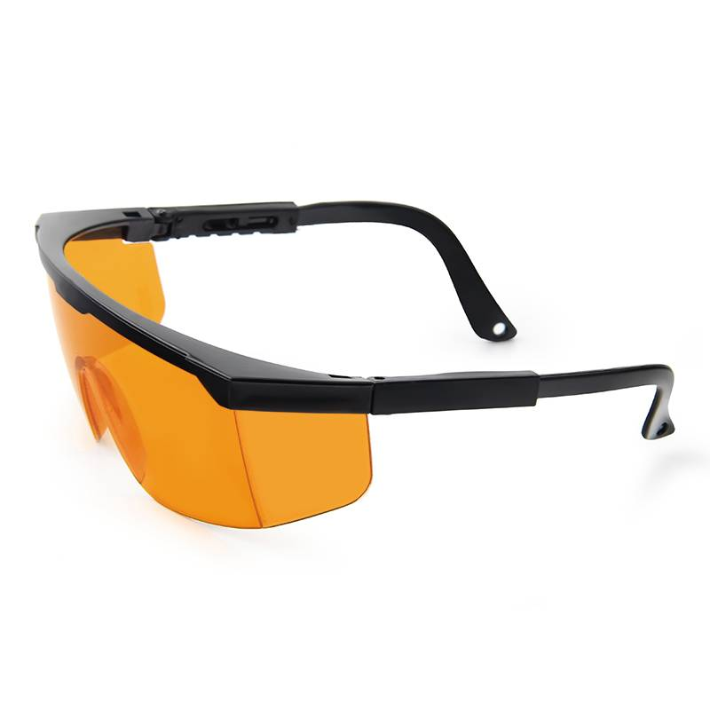 Safety Glasses Adjustable Wide-Vision Protective Glasses Lightweight Clear Fog-Proof Protective Eyewear