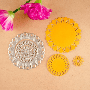 Flower Doily Cutting Dies for Scrapbooking
