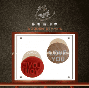 Goodlooking Wooden Stamp with Good Quality