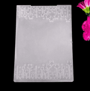 Factory Direct Sale Plastic Folders Paper Craft Embossing Folder