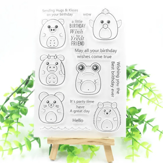High Quality Gift Set Promotion Clear Stamp for Card Making Featured Image