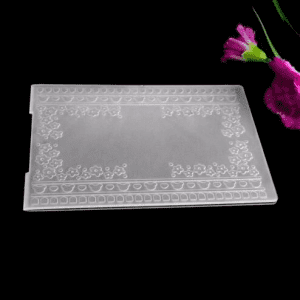 New Design Plastic Embossing Folders for DIY Scrapbooking