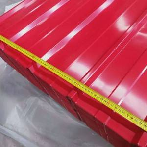 Color steel roofing sheet / wave tile