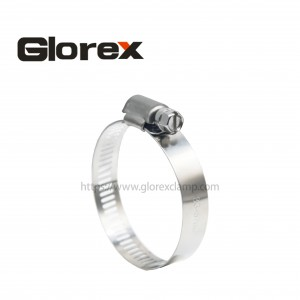 Factory Free sample Hoses And Clamps - 12.7mm American type hose clamp – Glorex