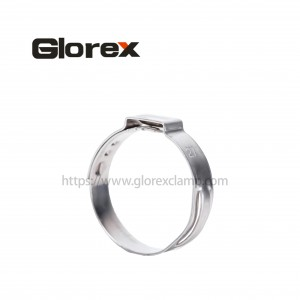 Personlized Products Pipe Screw Clamp - Uniaural non-polar hose clamp – Glorex