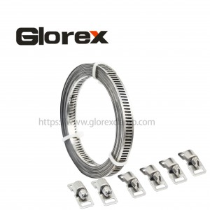 High reputation Dryer Vent Hose Clamp - 8mm American set – Glorex