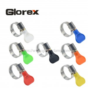 Factory wholesale Clamp For Water Hose - German type hose clamp with handle – Glorex