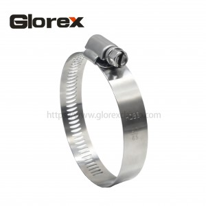 Factory wholesale Quick Release Hose Clamp - 14.2mm American type hose clamp – Glorex