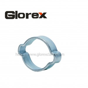 High Quality Small Pipe Clamps - Double ears hose clamp – Glorex