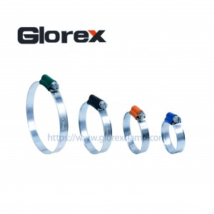2020 Good Quality Worm Drive Hose Clamps - British type hose clamp with tube housing – Glorex