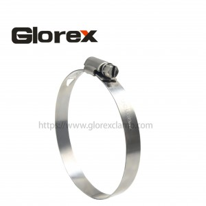 Excellent quality Air Hose Clamp - 10mm American type hose clmp – Glorex