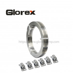 Factory Price For Cushioned Hose Clamp - 12.7mm American Set – Glorex