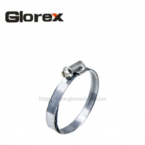 High Quality Different Hose Clamps - German type hose clamp without welding(with a spring) – Glorex