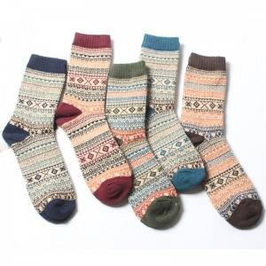 Factory source Cozy Socks With Grippers - Women Knitted Socks – item#WKS2009-30 –  SHUN SHUI