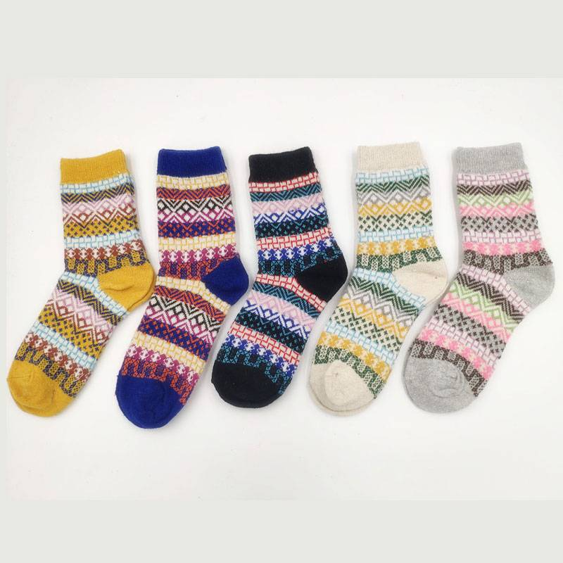 Factory made hot-sale Fun Cozy Socks - Women Knitted Socks – item#WKS2009-30 –  SHUN SHUI detail pictures
