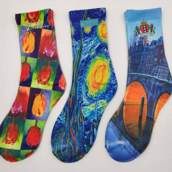 China New Product  Long Halloween Socks - 3D Printed Socks – item#WKS2033-36 –  SHUN SHUI