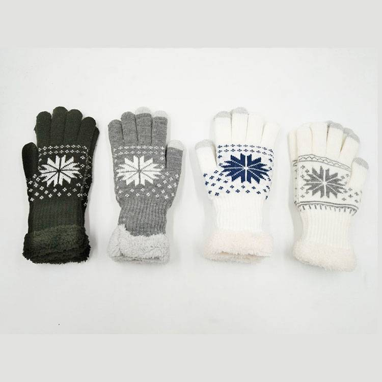 Popular Design for Leather And Knit Gloves - Women Soft Cozy Gloves with Touch Screen –  SHUN SHUI
