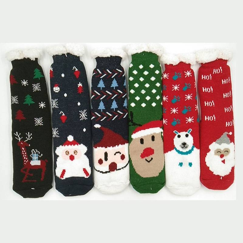 Factory Price For Halloween Fluffy Socks - Teddy Socks – item#WKS2037-42 –  SHUN SHUI