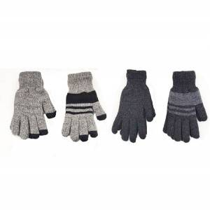 Wholesale Price Knitted Jacquard Patterned Gloves - Mens Knit Gloves with Touch Screen –  SHUN SHUI