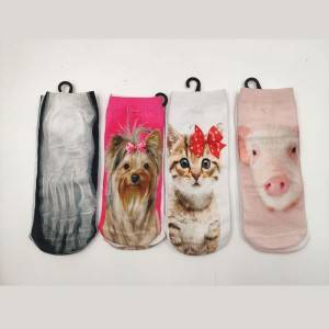 Factory Supply Knitted Acrylic Socks - 3D Printed Socks – item#WKS2033-36 –  SHUN SHUI