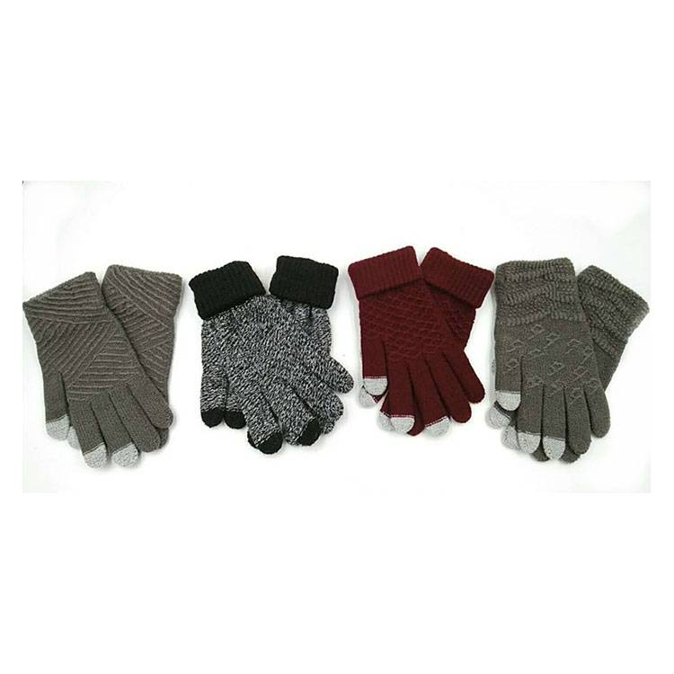 Factory Outlets String Knit Work Gloves - Knit Touch Screen Gloves –  SHUN SHUI