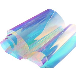 Chill Dichroic Iridescent Window Film for Glass Or Acrylic