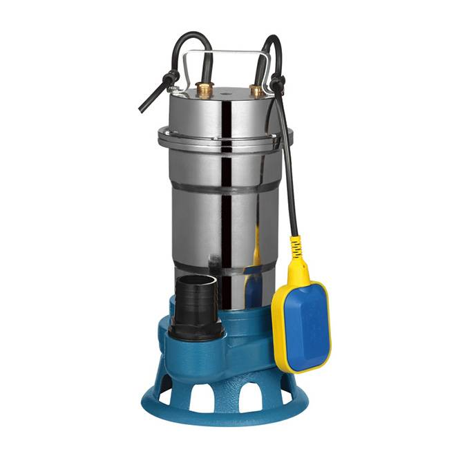 High quality big flow copper wire brass impeller submersible pump MF