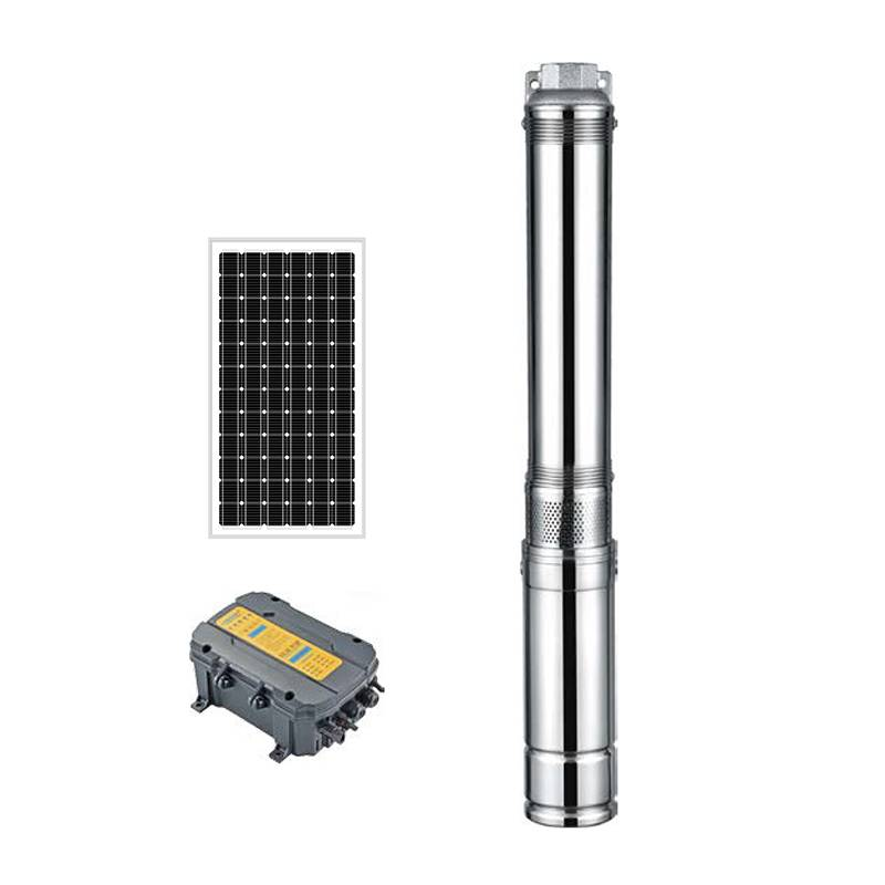 AC/DC Deep Well Submersible Pump