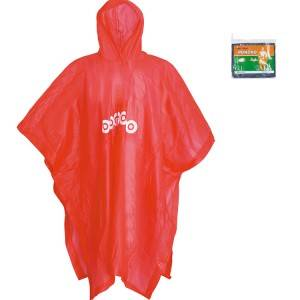 Reusable PVC Hooded Rain Poncho For Adults