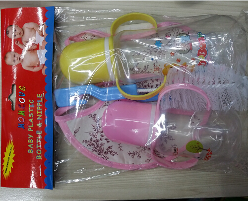 China Wholesale Covid 19 Protection Gown Manufacturers - Eco-Friendly PP Free Wide Baby Feeding Bottle – Tengxing