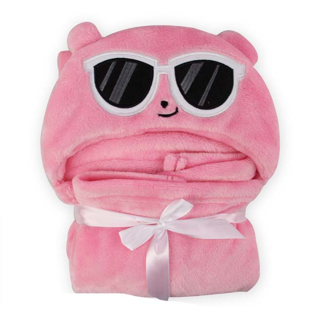 China Wholesale Baby Wrap Factories - Cheapest Stock Animal Hooded Baby Blanket Manufacturers – Tengxing